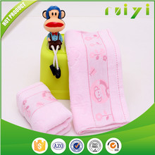 2015 hot sale customized baby washcloths cotton terry with CE certificate