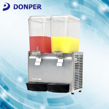 Donper brand LP18x2 Cold Juice Dispenser CE Certified
