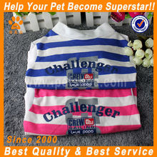 JML nice pink/blue stripes large pet clothes
