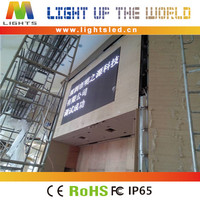 LightS alibaba india indoor p4 transparent dress fashion show