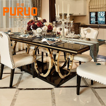 CZ003# Modern design8 seater dining table set