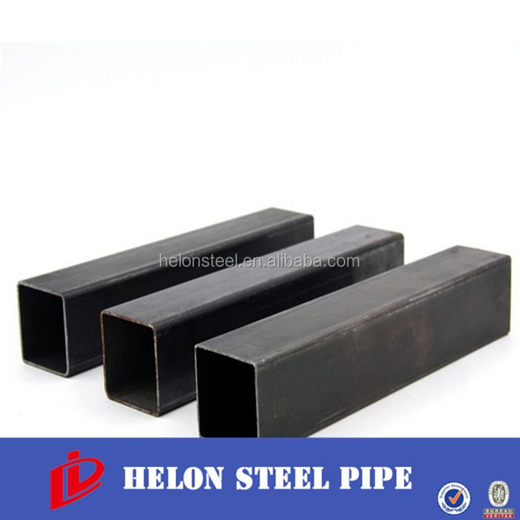 40x40 iron fence rectangular carbon mild steel tube sizes/weight ms square pipe Square steel tube