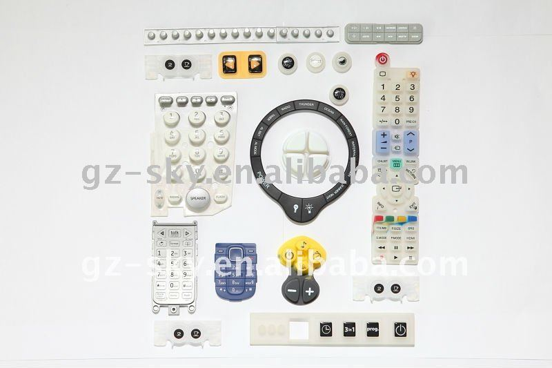 Caucho de silicona teclado impreso teclados y teclados for Caucho de silicona