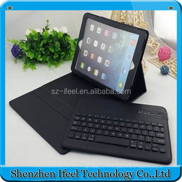 Removeable Bluetooth Keyboard PU Leather Stand Case For iPad Air/Air2/Mini/Mini2
