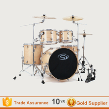 5pcs High quality professional Maple wood acoustic drum set