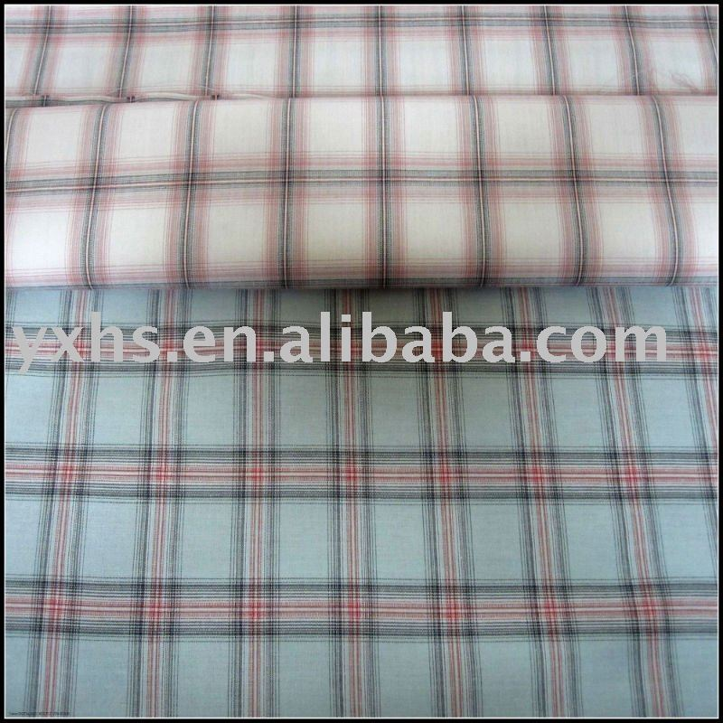 100% Cotton Yarn-dyed Checks and Stripe Fabric