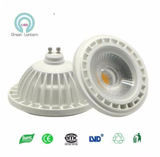 Professional Led Light Bulb Source Aluminum Ar111 Light Gu10 Led G53 Replace Halogen Lamp Cob Ar111