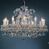 MARIA THERESA CANDLE CRYSTAL CHANDELIER COZY