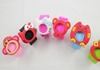 animal design silicone slap watch bands