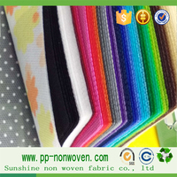 PP non woven fabric own factory with low price and good quality