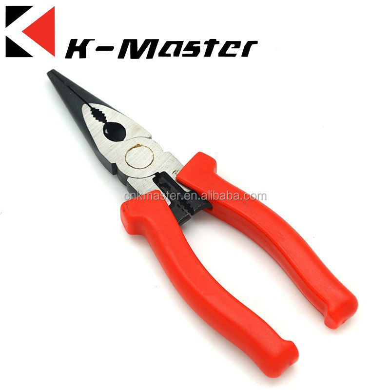 "K-Master 8"" /200mm Long nose plier fishing pliers electric multi tool"