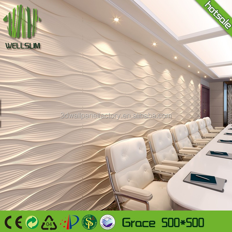 elegance mural sound proof wall panel 3d model free high-end for meeting room