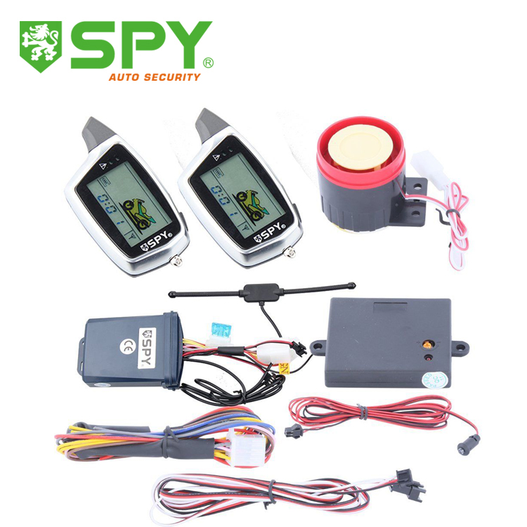 In Stock Two Way Motorcycle Alarm System Motorbike 2 Way Alarm Long Range Distance Control Fast Shipping