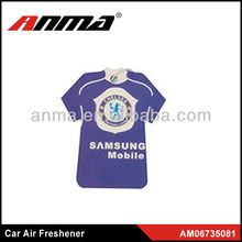flag design car air freshener,air freshener football team