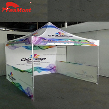 Sublimation 3 x 3m Aluminum Frame Portable Folding Straight Leg Canopy Tent For Outdoor and Indoor
