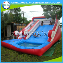 2017 Giant Cheap inflatable water slide for kids and adults