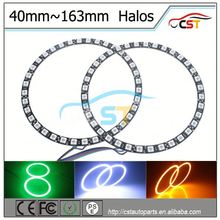 DC12~24V car accessory Angel Eye/tuning light (Single/Dual/RGB color) 12 volt led lights E70 X5