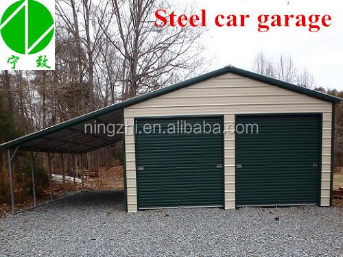 Steel garage kits and building buy prefab garage kits for Prefab 3 car garage kits