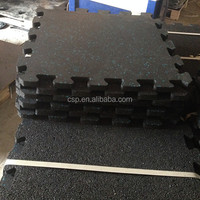 2014 Heat Resisting Interlocking Rubber Tiles