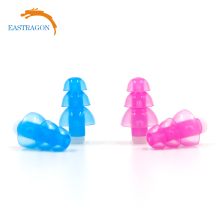Christmas tree shape colourful silicon anti-noise ear plugs for wholesaler