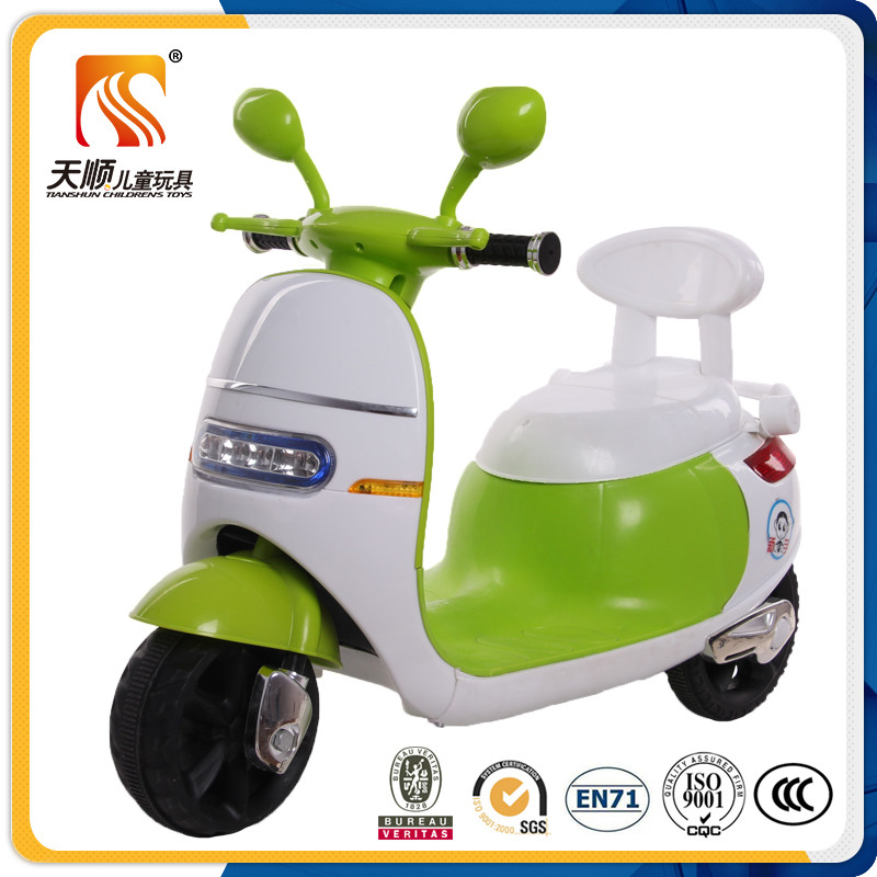 Best selling high quality new PP plastic kids electric motorcycle hot sale