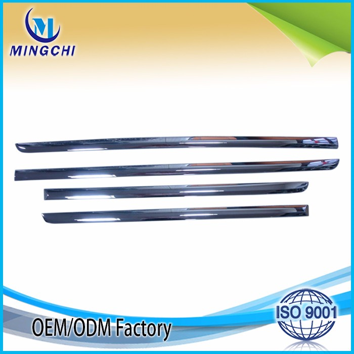 ABS Car chrome door trim car accessories ABS plastic chrome trim from Taiwan