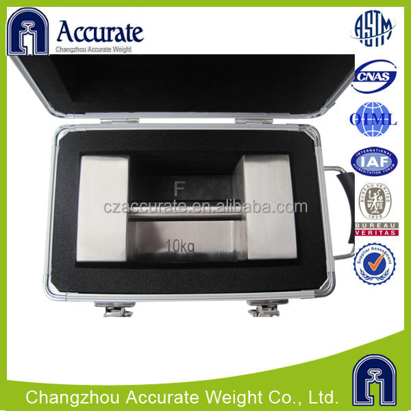 accurate test unit weight stainless steel, aluminum box