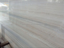 Top quality italian serpeggiante wood grain marble for wall-covering, flooring, and art decor