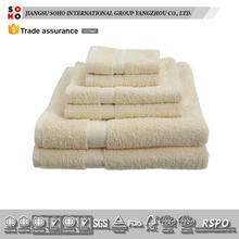 3-5 Star disposable hotel bath towel sets