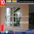 Single Glass PVC Profile Sliding Window