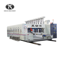 Full Automatic High Speed Carton Box Printing Die Cutting Machine