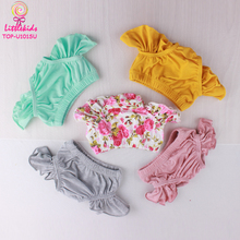 Bulk Summer New Design Ruffle Short Panties Little Girls Comfortable Boutique diaper cover Baby Bloomers For 0-6Y
