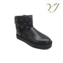 Hot Sale China Wholesale Cheap Snow Boots For Girls Winterboots Women Sexy Black Ankle Snow Boots