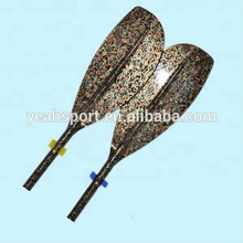 Rowing boats scull paddles