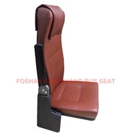 fold down seat for bus, ambulance and train