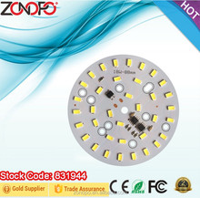18w ac down light round smd led pcb board