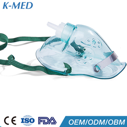 nasal catheter green medical part of breathing apparatus oxygen mask