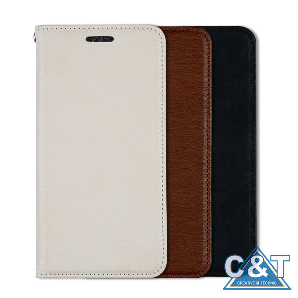 C&T Stand Card Holder PU Leather Wallet Cover Case for Samsung Galaxy S7 Phone