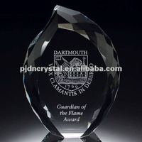 Crystal Eternal Flame Award trophy parts