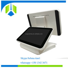 Newest 15.6+12.1 inch capacitive touch screen pos android with rk3288 high speed cpu-----Gc085