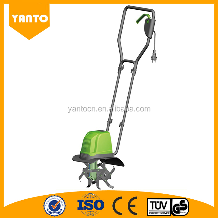 High Quality 800w Garden Electric power corded rotary tiller for sale