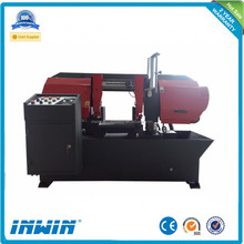 Semi-Auto metal stainless steel cutting bandsaw