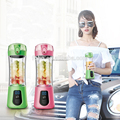 380ML Portable Mini Electric Juice Cup USB Recharging Milk shake Blender Bottle