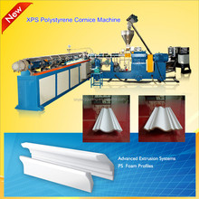 2015 latest interior xps decorative profile ceiling cornice strip machine