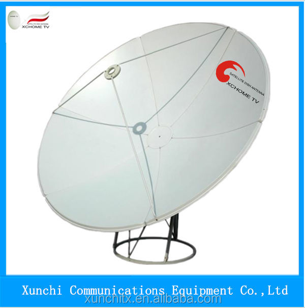 2015 factory price super quality c band satellite mesh dish antenna with lnb and cable