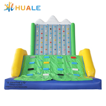 8x6x5m huale kids n adults inflatable rock climbing wall,inflatable air mountain game