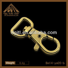 fashion nice quality gold plated snap hook wholesale