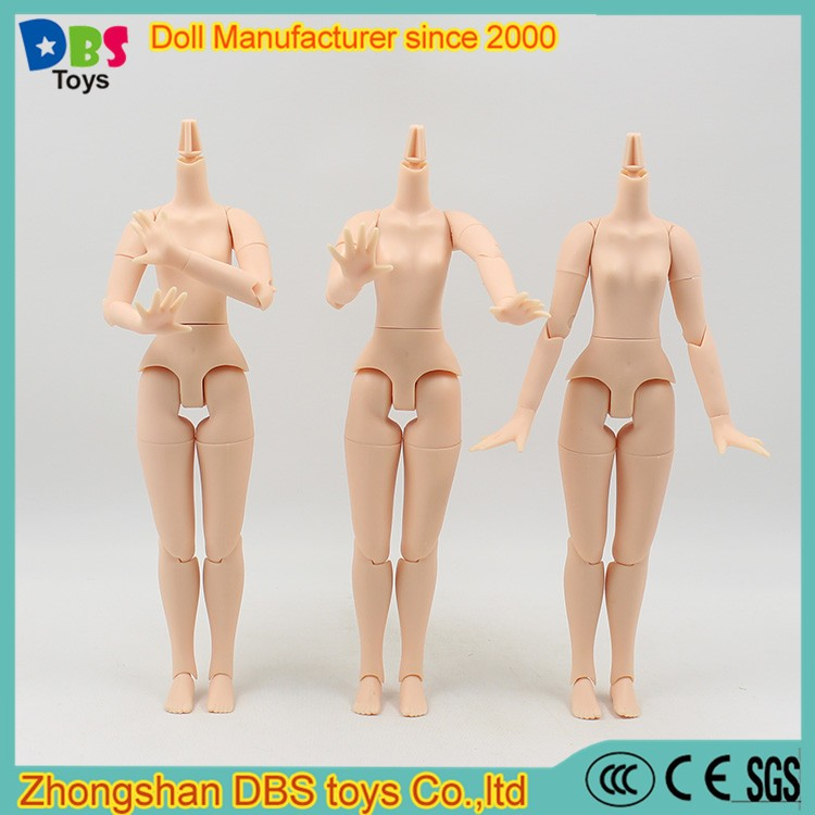 (YW-DB170201) DBS toys 11.5 inch Azone <strong>doll</strong> 20 joints plastic nude <strong>doll</strong> body