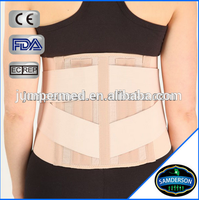 LU-7201Wholesale China supplier orthopedic therapy mesh back lumbar support brace/back support brace with steel