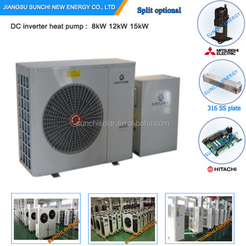 Best Brand Manufactory 8kW 12kW Save 70% Energy Through The Wall EVI Air Source What Is A Heat Pump